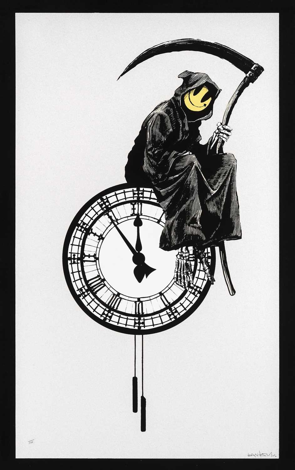 Lot 81-Banksy (British 1974-), 'Grin Reaper', 2005 (Signed)