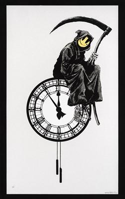 Lot 81 - Banksy (British 1974-), 'Grin Reaper', 2005 (Signed)