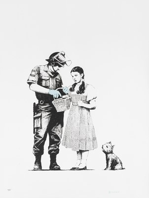 Lot 79 - Banksy (British 1974-), 'Stop & Search', 2007