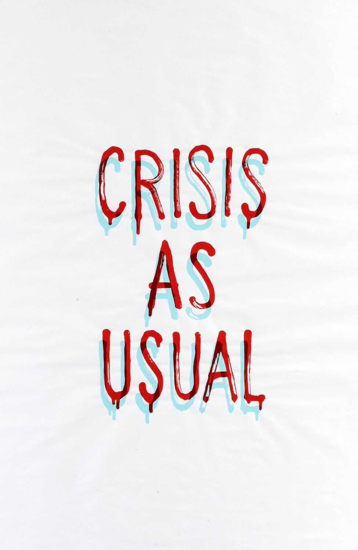 Lot 62-Banksy (British 1974-), 'Crisis As Usual', 2019
