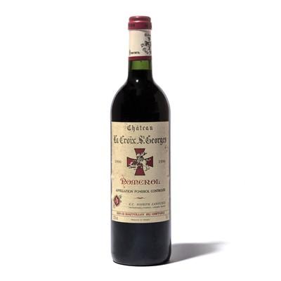 Lot 85-12 bottles 1996 Ch La Croix St George