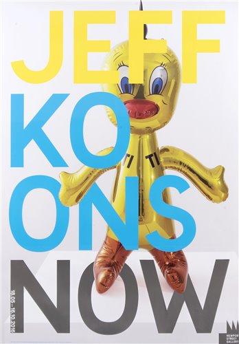 Lot 65 - Jeff Koons (American b.1955), 'Now', 2016