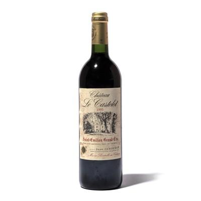 Lot 84-12 bottles 1995 Ch Le Castelot