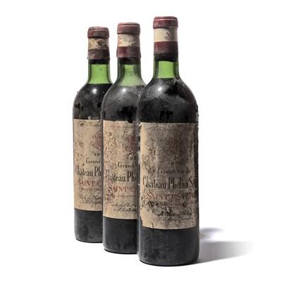 Lot 53-12 bottles 1970 Ch Phelan Segur