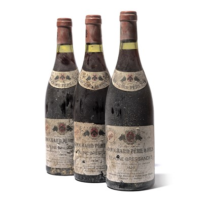 Lot 144-11 bottles 1976 Beaune Bressandes Bouchard P&F
