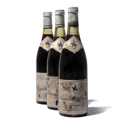 Lot 159-12 bottles 1976 Chambolle-Musigny M&L Parisot