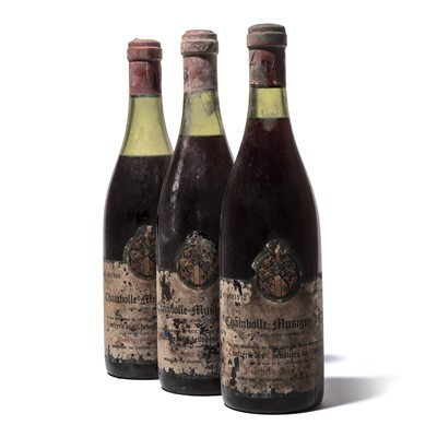 Lot 143-11 bottles 1972 Chambolle-Musigny Tastevinage