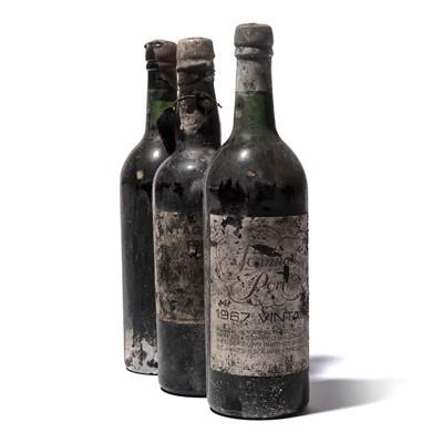 Lot 4-11 bottles Mixed Vintage Port