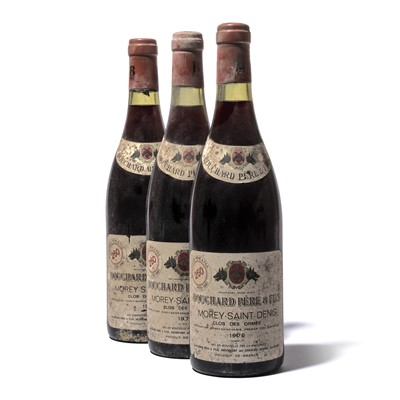 Lot 163-12 bottles 1976 Morey St Denis Clos des Ormes Bouchard P&F