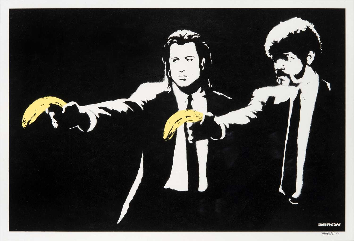 Lot 82 - Banksy (British 1974-), 'Pulp Fiction', 2004