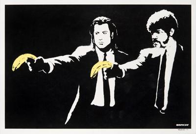 Lot 82 - Banksy (British 1974-), 'Pulp Fiction', 2004