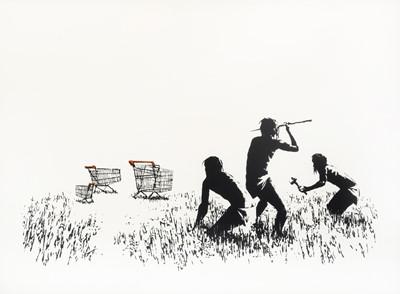 Lot 74 - Banksy (British 1974-), 'Trolleys', 2007