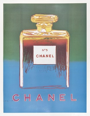Lot 2-Andy Warhol (American 1928-1987), 'Chanel No.5', 1997 (4 Works)