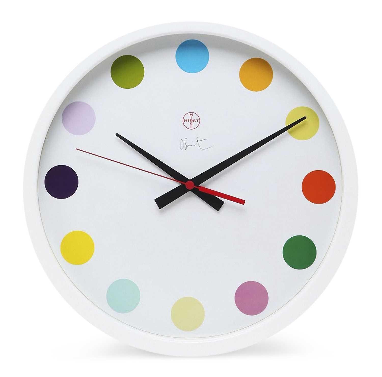 Lot 21-Damien Hirst (British 1965-), 'Spot Clock Large', 2009