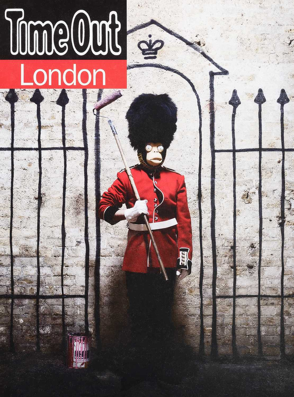 Lot 49-Banksy (British 1974-), 'Time Out London', 2010