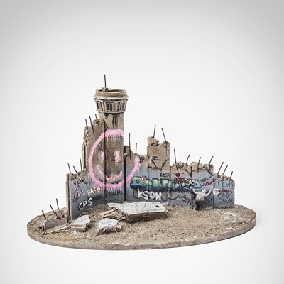 Lot 64 - Banksy (British 1974-), 'Walled Off Hotel - Smiley Tower'