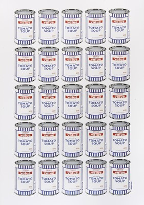 Lot 66 - Banksy (British 1974-), 'Soup Cans Poster', 2010