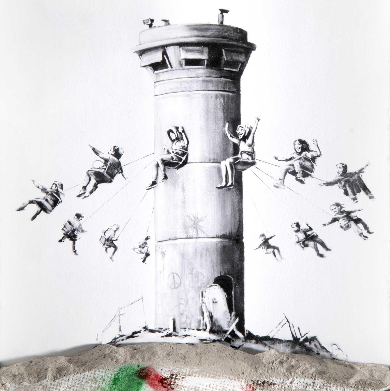 Lot 54-Banksy (British 1974-), 'Walled Off Hotel Box Set', 2017