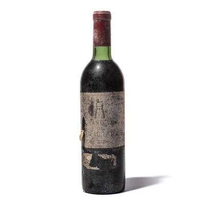 Lot 30-1 bottle 1970 Chateau Latour