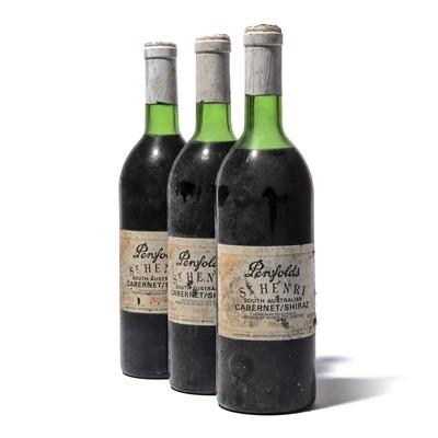 Lot 147 - 12 bottles 1981 Penfolds St Henri Cabernet/Shiraz