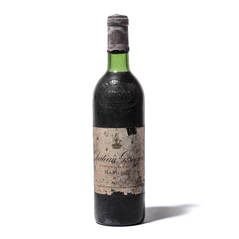 Lot 56-12 bottles 1973 Ch Giscours