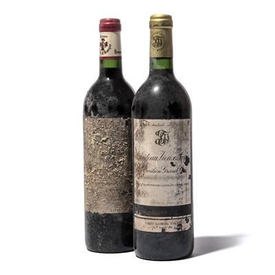 Lot 92-12 bottles Mixed Claret