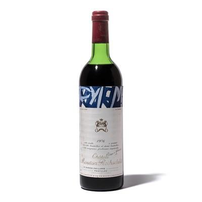 Lot 31-1 bottle 1976 Ch Mouton-Rothschild