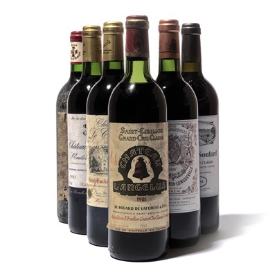 Lot 44-10 bottles Mixed Claret