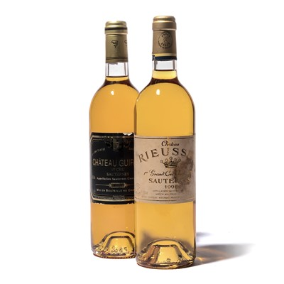 Lot 137-6 bottles Mixed Sauternes