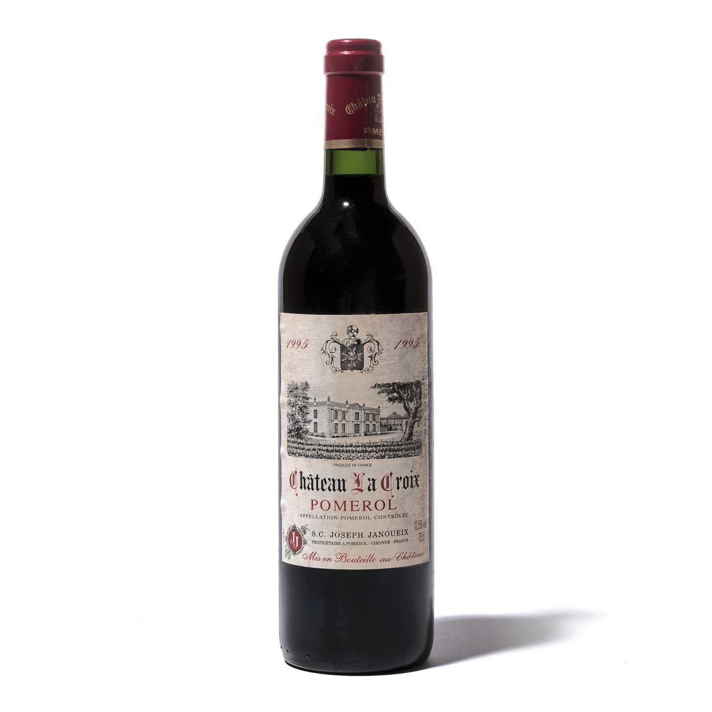 Lot 83-12 bottles 1995 Ch La Croix