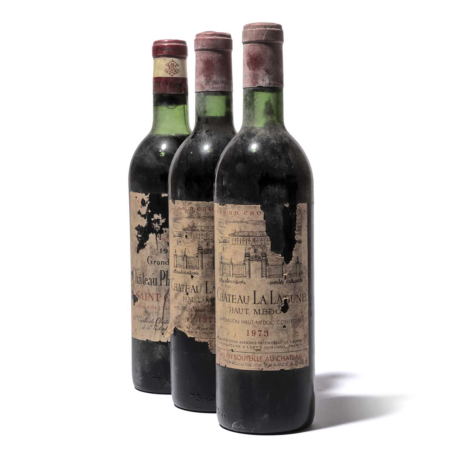 Lot 48-11 bottles Mixed Claret
