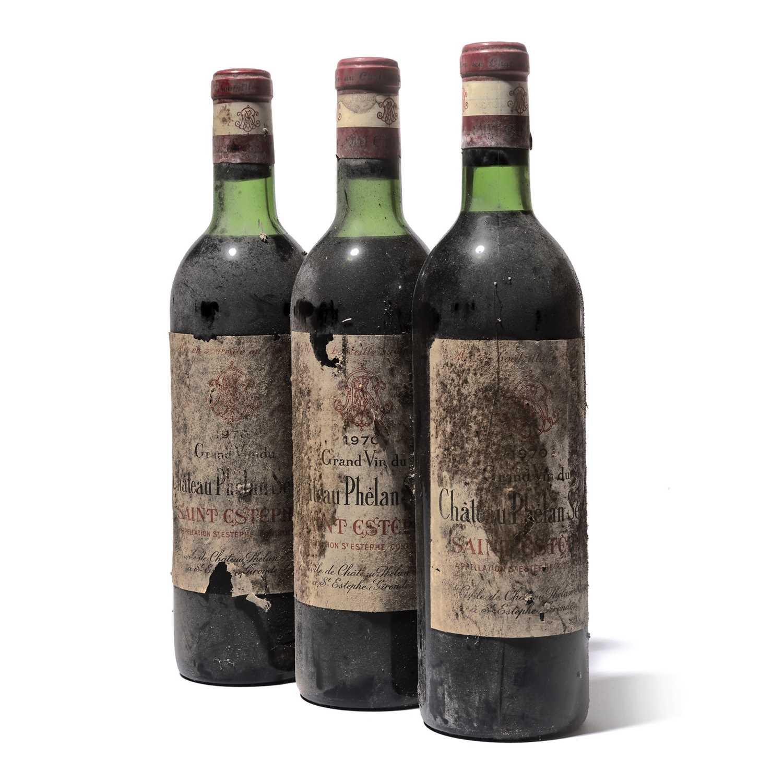 Lot 52-12 bottles 1970 Ch Phelan Segur
