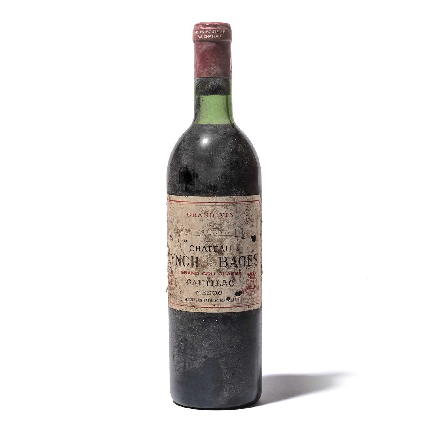 Lot 47 - 5 bottles 1971 Ch Lynch Bages
