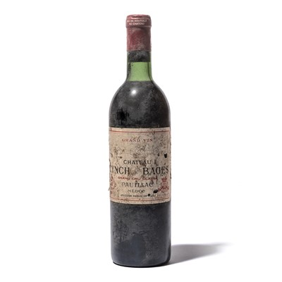 Lot 114-5 bottles 1971 Ch Lynch Bages
