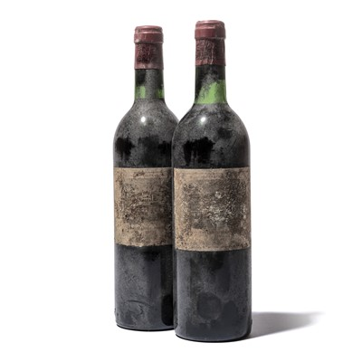 Lot 99-2 bottles 1979 Ch Lafite-Rothschild