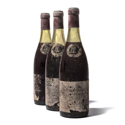 Lot 187-7 bottles 1966 Clos Vougeot L Latour
