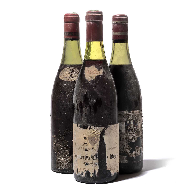 Lot 90 - 9 bottles Mixed Red Burgundy