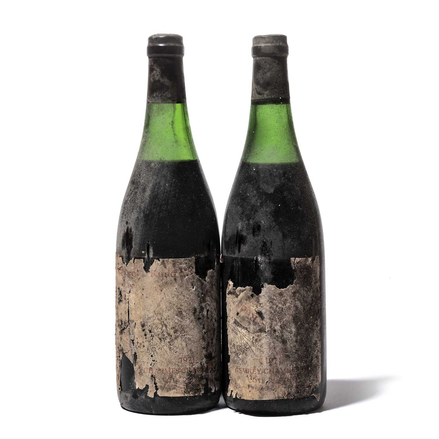 Lot 69 - 11 bottles 1971 Gevrey-Chambertin BBR