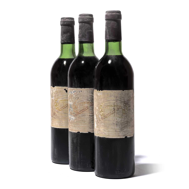 Lot 60-12 bottles 1977 Ch Margaux