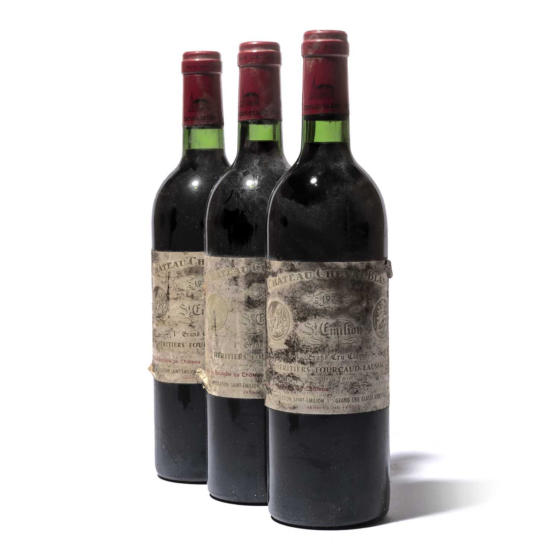 Lot 46-11 bottles 1974 Ch Cheval Blanc