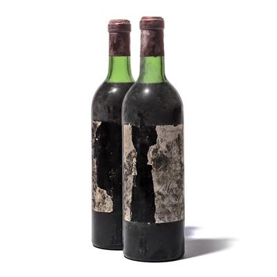 Lot 139 - 2 bottles 1969 Ch Musar