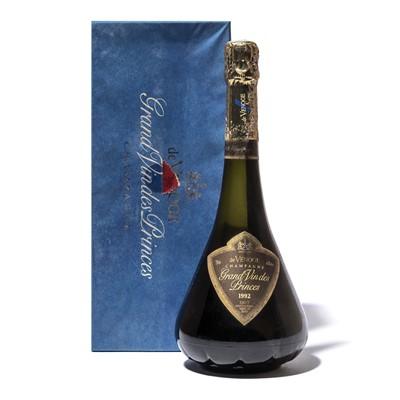 Lot 61 - 6 bottles 1992 de Venoge Grand Vin des Princes