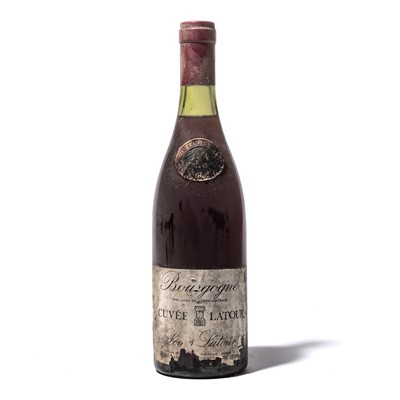 Lot 157-12 bottles 1976 Bourgogne Rouge Cuvee Latour