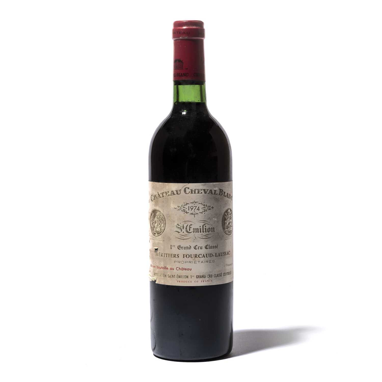 Lot 20 - 12 bottles 1974 Ch Cheval Blanc