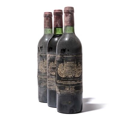 Lot 75-12 bottles 1984 Ch Palmer