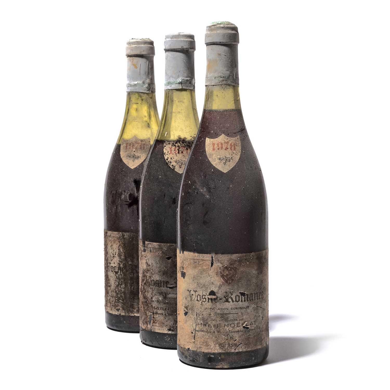 Lot 72 - 11 bottles 1976 Vosne-Romanee H Noellat