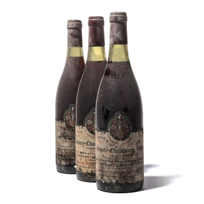 Lot 160-12 bottles 1976 Gevrey-Chambertin