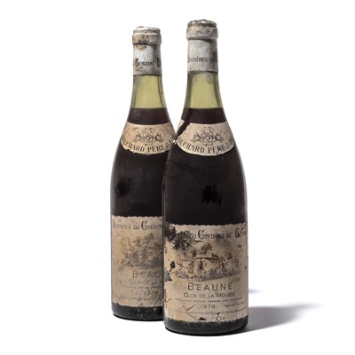 Lot 149-11 bottles 1978 Beaune Clos de la Mousse Bouchard P&F