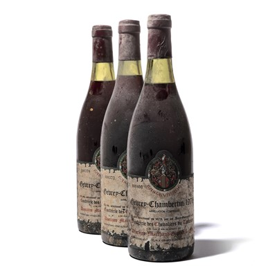 Lot 162-12 bottles 1976 Gevrey-Chambertin