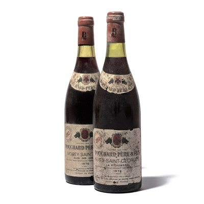 Lot 182-6 bottles 1976 Mixed Bouchard Pere et Fils